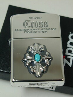 """Zippo lighters: Zippo Silver Cross / / metal / 銀位 referring """"limited edition"""" CRS-I ★ fashion! ★"""