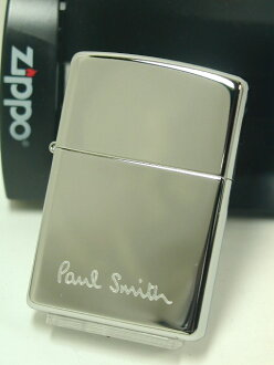 Zippo lighters: Zippo # 250 Paul Smith logo ♪ high Polish chrome ♪ regular ★ rare! ★