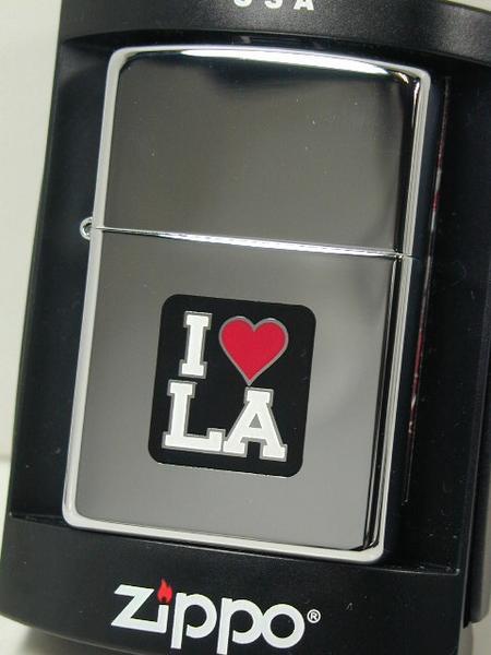 ジッポーライター: Zippo 【 I Love LA 】 ロサンジェルス USA直輸入 《愛》 ロス ☆レギュラー☆ 【あす楽対応】 【楽ギフ_包装】 【YDKG-tk】 【ジッポ】 【ジッポー】 【ライター】 【ダルマヤ】