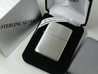 Zippo lighters: Zippo armour sterling silver solid / sterling silver / / Armor Sterling Silver Case # 27 sterling silver plain regular ☆ gorgeous! ☆