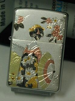 jipporaita: Zippo电铸板舞妓200FB denchuban京都祗园和服★Maiko★