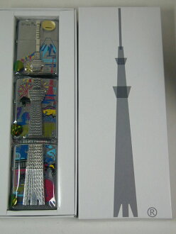 Zippo lighters: 634 PCs limited edition Zippo / Tokyo sky tree / certified Zippo ★ gorgeous! ★