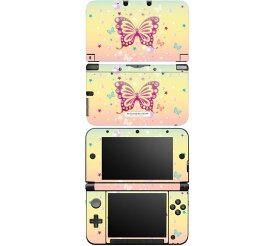 【お取寄せ】 ニンテンドー 3DS LL スキンシール DecalSkin [MT26/Butterfly Bling] 3DSLL デコ シール デコシート スキン シート カバーシール 送料無料