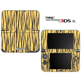 【お取寄せ】 ニンテンドー new3DSLL スキンシール DecalSkin [YU32/Tiger Print] new3DS LL デコ シール デコシート スキン シート カバーシール new 3DSLL 送料無料 new 3DS LL