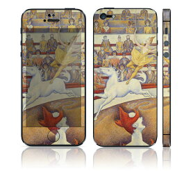 【お取寄せ】 iPhone SE/5S DecalSkin スキンシール [AT63/Le Cirque] デコシール デコシート 前面シール 背面シール iPhone SE 5S iPhoneSE iPhone5S 送料無料 アイフォン アイフォーン アイホン