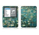 【お取寄せ】 iPod nano 第3世代 スキンシール DecalSkin [AT19 AlmondBranches] デコ シール デコシート 前面 背面 ...