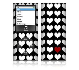 【お取寄せ】 iPod nano 第4世代 スキンシール DecalSkin [ST15 One In A Million] デコ シール デコシート 前面 背面 シール カバーシール アイポッド ナノ iPodnano アイポッドナノ 4世代 4th 送料無料