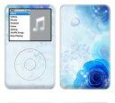 【iPod classic】スキンシール【即納】ipodclassic/BF15/ブルーローズ [ アイポッド クラシック ] (カバー/かわいい/人気/おしゃ...