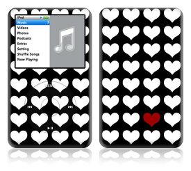 【即納】 iPod classic スキンシール DecalSkin [ST15/One In A Million] デコ シール デコシート 前面シール 背面シール ホイールカバーシール アイポッド クラシック iPodclassic アイポッドクラシック