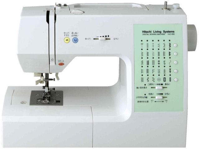 【在庫あり・即納品】【送料無料】  日立 コンピューターミシン HJC-606 【smtb-s】 【HLS_DU】 【RCP】 05P27May16