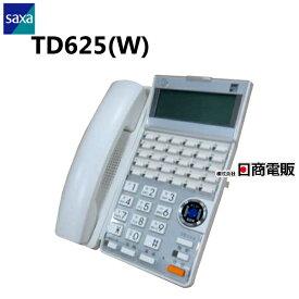 【中古】TD625(W)SAXA/サクサ AGREA HM70030ボタン多機能電話機【ビジネスホン 業務用 電話機 本体】