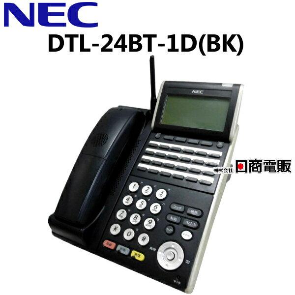 【中古】DTL-24BT-1D(BK) NEC AspireX 24ボタンカールコードレス【ビジネスホン 業務用 電話機 本体 子機】