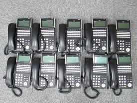 【中古】【10台セット】DTL-24D-1D(BK)TELNEC AspireX DT300シリーズ 24ボタン多機能電話機【ビジネスホン 業務用 電話機 本体】