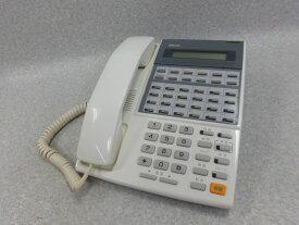 【中古】DX2D-24BTUX 電話機(WH)日通工 24ボタン電話機【ビジネスホン 業務用 電話機 本体 子機】