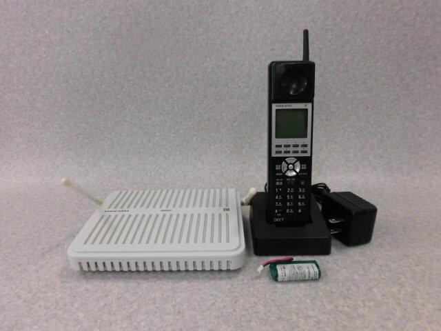 【中古】 NYC-8iF-DCLL Bナカヨ/NAKAYO iF デジタルコードレス電話機【ビジネスホン 業務用 電話機 本体 子機】
