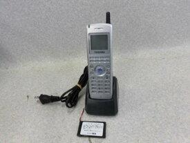 【中古】DCP-408D(=サクサ PS601) TOSHIBA/東芝 システムコードレス電話機【ビジネスホン 業務用 電話機 本体】