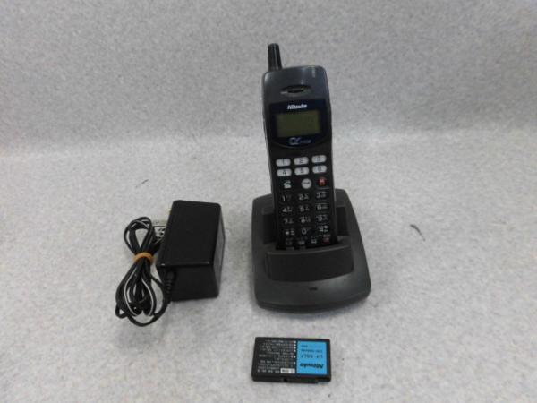 【中古】DX2D-6BPS-S NEC 日通工 コードレス電話機【ビジネスホン 業務用 電話機 本体 子機】