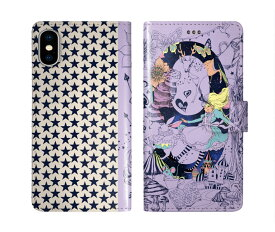 iPhone XR iPhone XS iPhone8 ケース スカラー 手帳型 SO-02L SO-01L SO-05K SH-04L SH-01L SH-03K SH-01K SC-04L SC-03L SC-02L F-02L F-04K ScoLar 手帳型ケース 全機種対応 女の子 鹿 蝶 猫 星 メルヘン ダイアリー かわいい