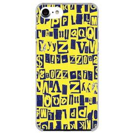 iPhone11 ケース iPhone 11 Pro iPhoneXR iPhoneXS iPhoneXS Max iPhone8 iPhone7 iPhoneSE iPhone6S iPod touch7 第7世代 スマホケース ハードケース カバー docomo au 全機種対応 カバー アルファベット イエロー