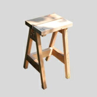 石卷工作室/凳子/木制/ISHINOMAKI HIGH STOOL[石卷工作室的木制凳子]