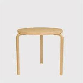 北欧 artek/アルテック/アアルト/丸テーブル 90B バーチ [丸テーブルは北欧artek アルテック]
