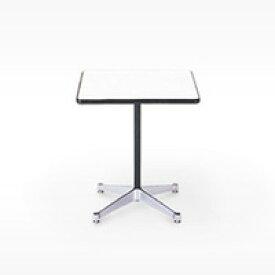 ハーマンミラー / イームズ / コントラクトベース/正方 テーブル/白/90.5角xH70cm[テーブルはイームズ/ハーマンミラー]