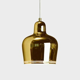 【クーポン有】北欧照明 artek/アルテック/アアルト/a330s golden bell ゴールデンベル/ペンダントランプ [北欧照明はartek アルテック]