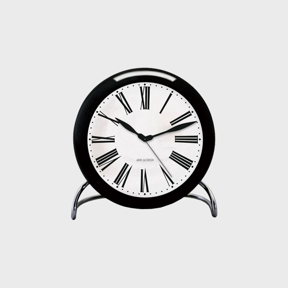 【ラストスパート!! 8%offクーポン】アルネ ヤコブセン/置時計/ROMAN ローマン