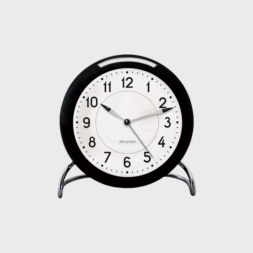 【100-5000円offクーポン】【5%OFFクーポン対象】アルネ ヤコブセン/置時計/STATION ステーション