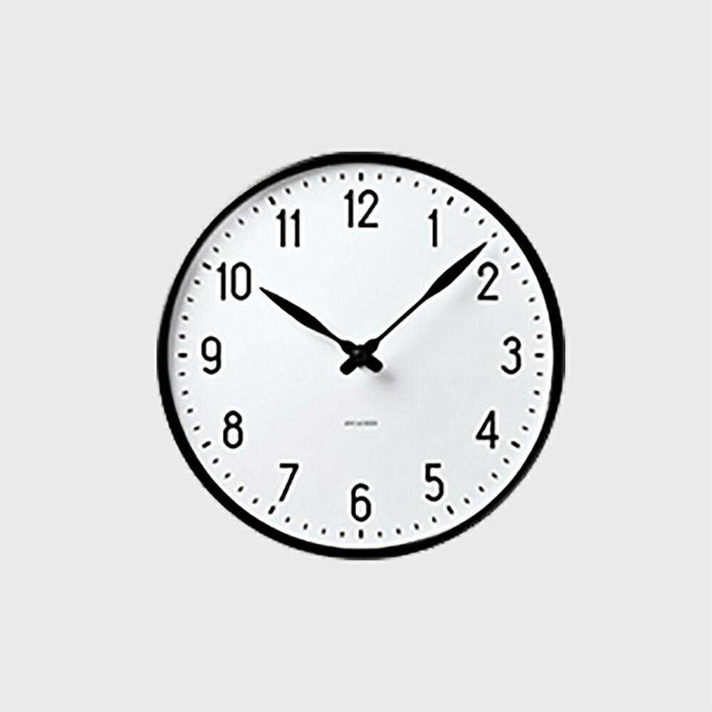 【5%OFFクーポン対象】ローゼンダール アルネ ヤコブセン 掛時計・壁掛け時計 STATION ステーション 290 [ デザイナーズ ウォールクロック 北欧 ]