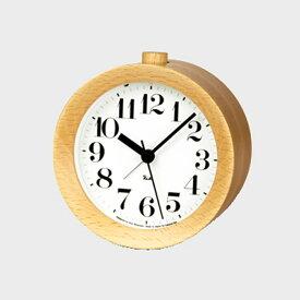 【クーポン有】Lemnos/置き時計/RIKI Alarm Clock/ナチュラル WR09-15 NT【楽ギフ_包装選択】