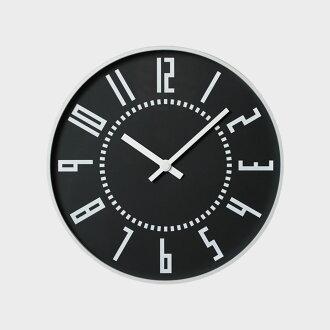 Takenobu Igarashi | eki clock / black