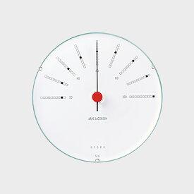 【¥100-1500クーポン/エントリーでP5倍】北欧 アルネヤコブセン Bankers ハイグロメーター(湿度計) 120mm [ デザイナーズ ウォールクロック 北欧 ]