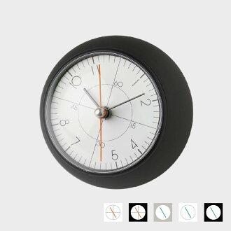 五十岚威畅/earth clock地线钟表/桌子钟表座钟/TIL16-10BK