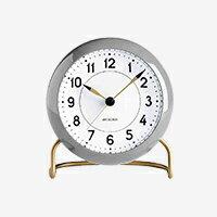 【エントリーでP+10倍】アルネヤコブセン/置時計/STATION/グレー