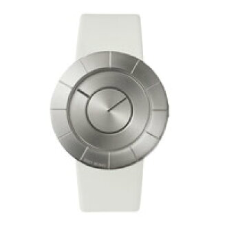 Issey Miyake and Yoshioka Shunde Jin/to watch /SILAN011 / leather calf white [clocks and watches the Issey Miyake Yoshioka Shunde Jin to]
