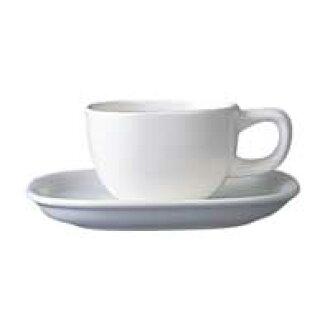Yanagi 宗道 / 陶瓷 / 杯 & 飞碟和过去的咖啡杯子 & 碟 / 白 & 咖啡匙