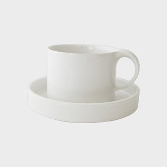 Ceramic Japan / Moderato moderate/Cup & Saucer/white