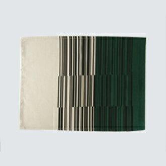 Yanagi 宗道织物放置垫 / 条码模式绿 B