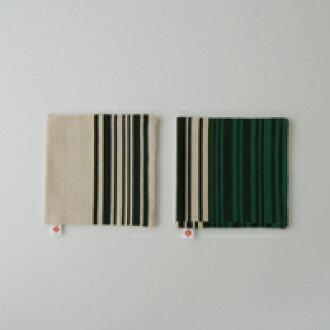 100 / 300 美元的優惠券 | YANAGI,織物 / 過山車 / 條碼模式綠色雙 [Yanagi 宗道 / 面料 / 過山車條碼模式] [1/4 米飛行]