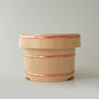 [100 yen OFF Coupon for] Arbour / Kiso straw / boiled-rice container, wooden and porcelain rice keeper 2 for [wooden ohitsu-porcelain rice keeper / 2 for Arbor] [P15Aug15]