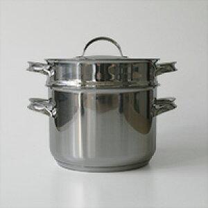 opaオパ社/Mari スチーマー付きキャセロール 3.0L/フィンランド生産 [北欧/蒸し器付き鍋 スチーマー付きキャセロール IH対応]