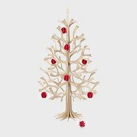 【エントリーでP+10倍】北欧 lovi クリスマスツリー 30cm/三角S/ナチュラルウッド[ lovi クリスマスツリー キット/北欧 ヒンメリと]