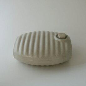 湯たんぽ 陶器 /美濃焼/弥満丈欅窯/オーガニックホワイト[ 湯たんぽ 陶器は美濃焼 ]