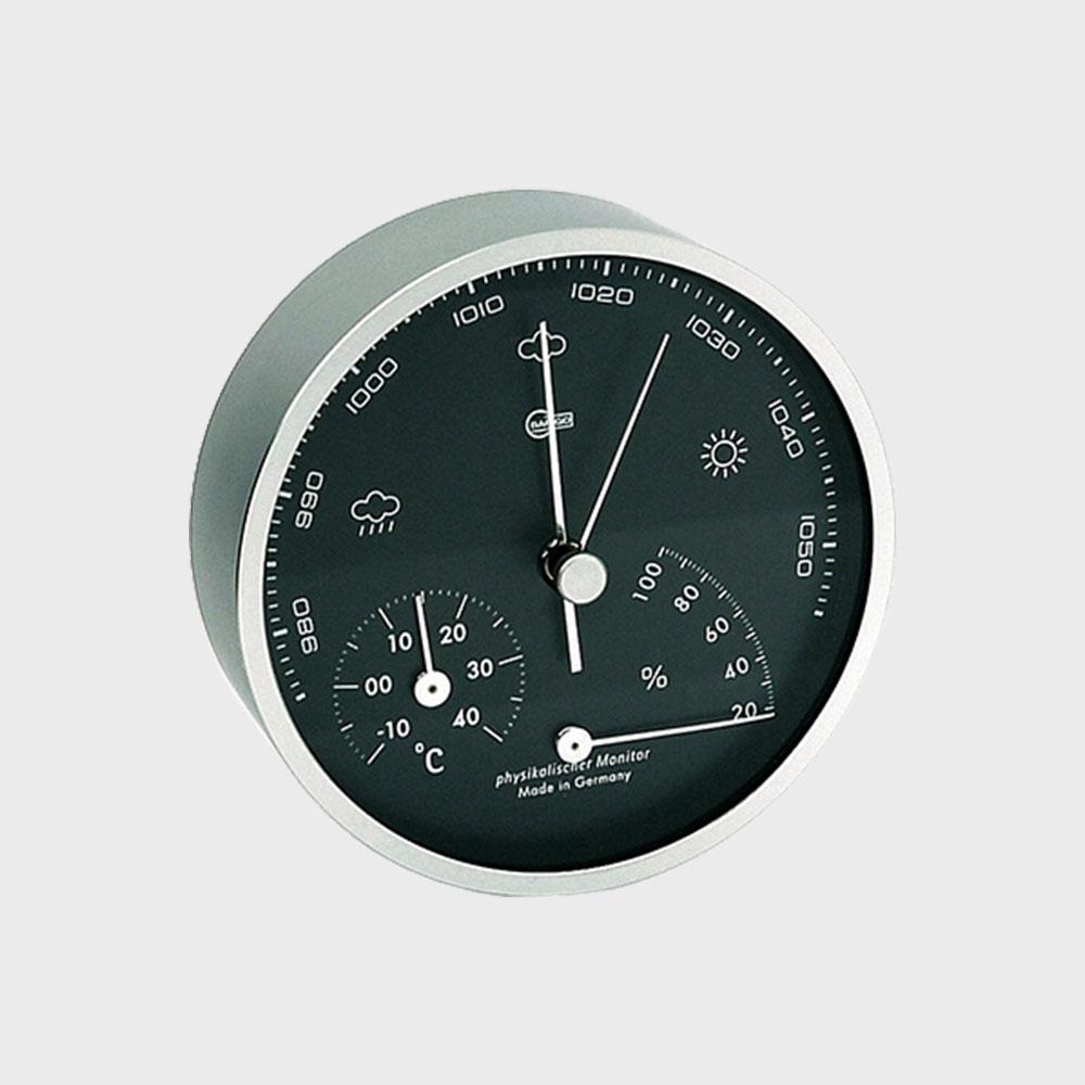 【100円offクーポン】BARIGO/温湿気圧計(壁掛け・卓上両用) BG101-5