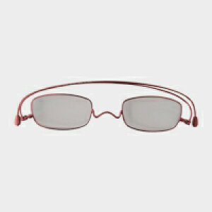 コンパクトな携帯用老眼鏡 paperglass スクエア ベーシックレッド(新仕様) [ おしゃれなメンズ・レディース兼用/男性用・女性用シニアグラス ]