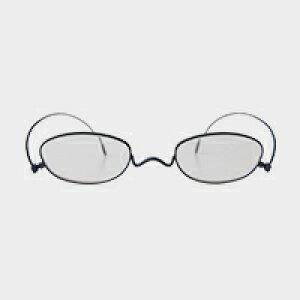 コンパクトな携帯用老眼鏡 paperglass オーバル マットネイビー(新仕様) [ おしゃれなメンズ・レディース兼用/男性用・女性用シニアグラス ]