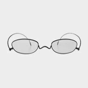 コンパクトな携帯用老眼鏡 paperglass オーバル マットブラック(新仕様) [ おしゃれなメンズ・レディース兼用/男性用・女性用シニアグラス ]