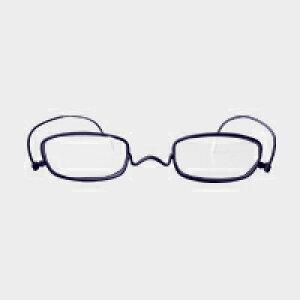 コンパクトな携帯用老眼鏡 paperglass スクエア マットネイビー(新仕様) [ おしゃれなメンズ・レディース兼用/男性用・女性用シニアグラス ]