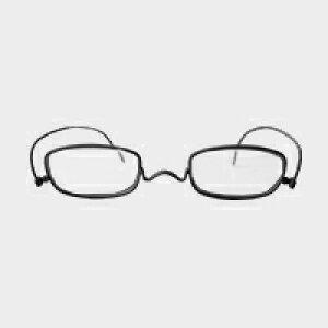 コンパクトな携帯用老眼鏡 paperglass スクエア マットブラック(新仕様) [ おしゃれなメンズ・レディース兼用/男性用・女性用シニアグラス ]